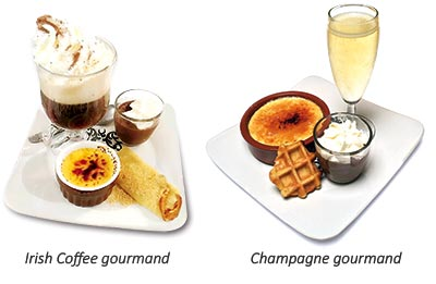 Irish et Champagne gourmands